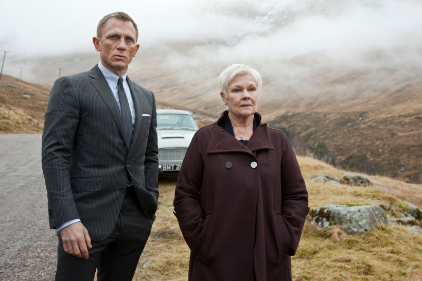 Skyfall Daniel Craig James Bond Judi Dench M
