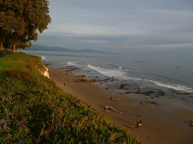 Sunset at Shoreline Park in Santa Barbara.