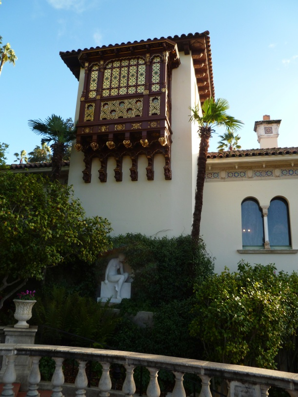Detail from one of the guest houses