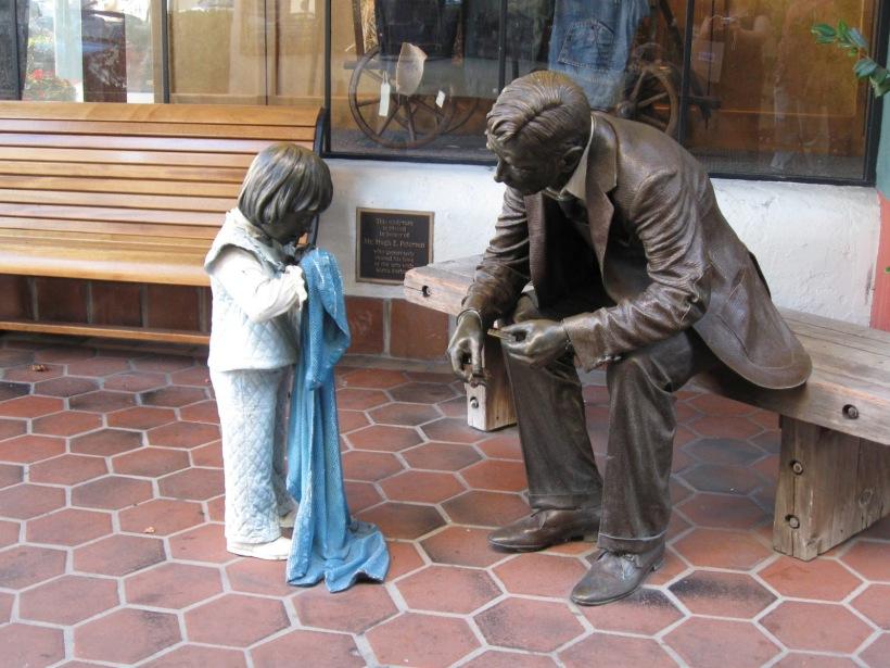statue santa barbara - copyright - all rights reserved